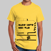 Yellow Make Love Not War T